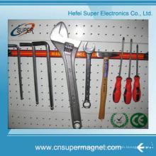 Porta-ferramentas para faca de cozinha magnética de aço inoxidável
