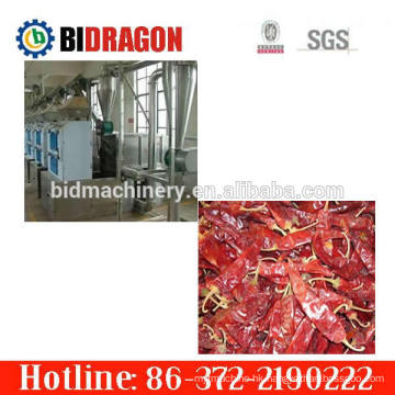 Hot sale full automatic complete roller pepper flour milling plant with 400 kg/h