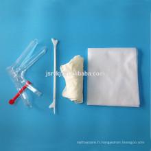 Trousses gynécologiques stériles jetables
