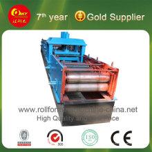Máquina formadora de rolo de canal C para produção de metal