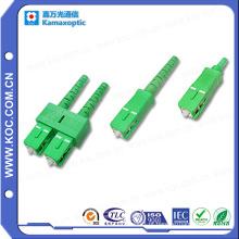 Sc / conector APC 0.9 / 2.0 / 3.0 de alta qualidade de fibra óptica Sc Conn
