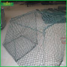 pvc coated hexagonal net woven gabion