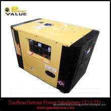 Воздух-Охлаженный Открытый Тип Тепловозный генератор 8kva