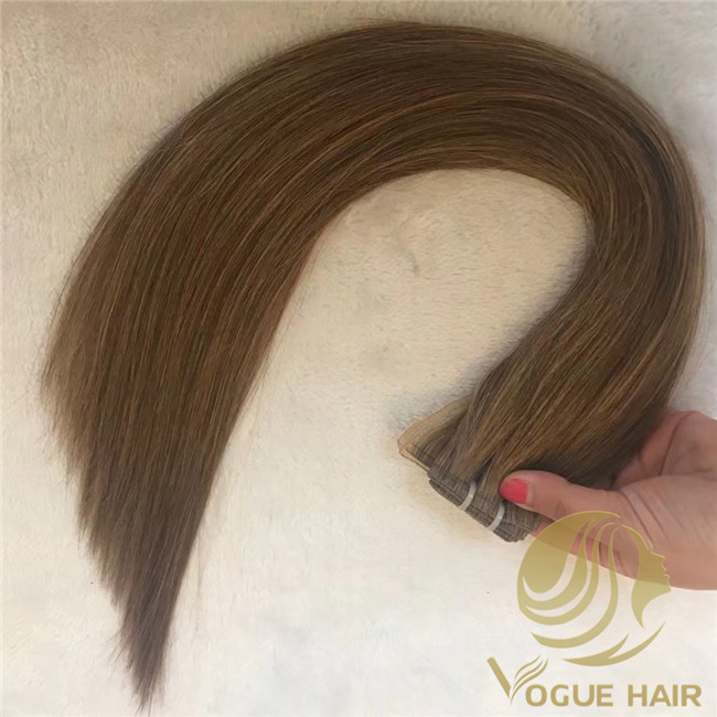 Full cuticle human hair
