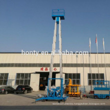 14m 250kg aerial work platform electric home use high rise man window cleaning lift