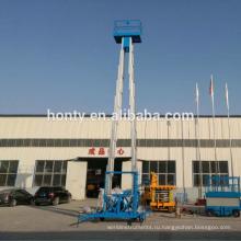 14 м 250 кг воздушная рабочая платформа электрический дом высокого подъема человек очистки окна лифт