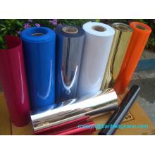 Metallisierte starre PVC-Folie für Weihnachtsbaumblätter