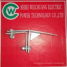 горячая оцинковка кабельный зажим используется для башни