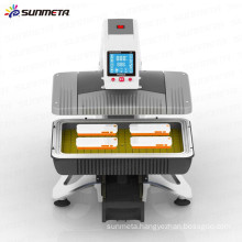 Sunmeta 2015 newest design automatic all in one heat press sublimation machine ST-420