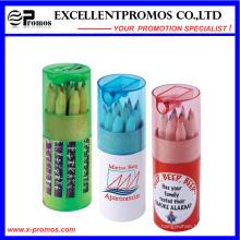 Crayon en bois 12PCS Hb en tube de papier Kraft (EP-P9076)