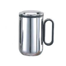 Taza de doble pared de acero inoxidable con filtro 550ml de té