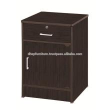 Gabinete lateral, armario pequeño armario, puesto de noche, estante utilitario de madera
