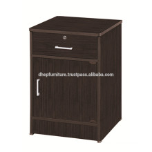 Side Cabinet, Small locker Cabinet, Night stand, Wooden Utility Shelf