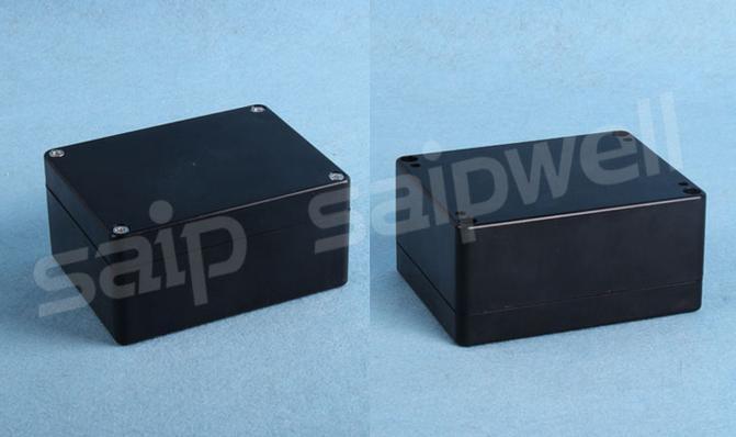 Manufacturer Saip good qantity Black waterproof plastic terminal Cabinet