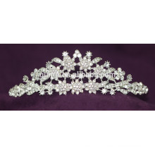 Nouveau design strass Wedding Tiara Crystal Bridal Crown