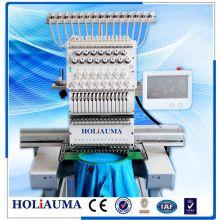 Holiauma alta velocidade irmão tipo 1 cabeça 15 cor bordado máquina para bordado do tampão 3D toalha t-shirt Mutil função