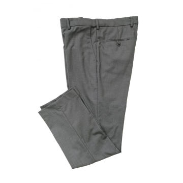 Pläd Formell Long Men Polyester / Rayon Business Pant