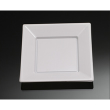 Disposable Plastic Plate, Round Square Shape Plate Dish Tray