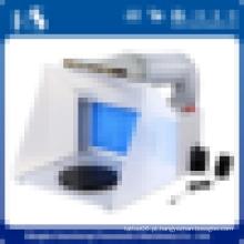 HS-E420DCK pequena cabine de pintura automática