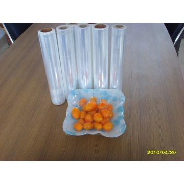 Cada volumen de envoltura plástica de alta calidad y bajo precio en envases frescos. Verduras y frutas con
