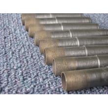 fábrica fornecer broca de 64 mm / sinterização diamante & bronze/cone-haste da broca broca broca / broca para perfurar o vidro do diamante
