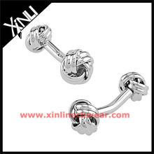 2013 novo botão de punho de aço inoxidável