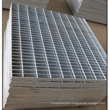 Heavy Duty Galvanized Steel Grating (Serrated or Plain) Manufactory