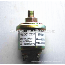 Heavy truck diesel engine electric oil pressure sensor 3015237