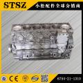 Komatsu genuine parts  PC200-7 cylinder block 6731-21-1170