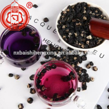 Balck goji berry dried with high anthocyanin anti-aging