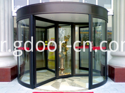Specila Designed Three-wing Automatic Revolving Doors