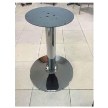 table à manger française pieds de meubles en fer forgé chromé