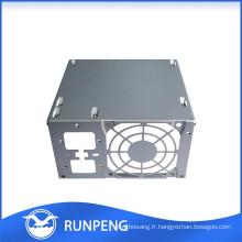 Boîte en boîtier en aluminium pour électronique