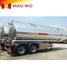 Aluminium 3axles Fuel Tanker Trailer for Sale