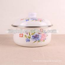 kitchenware flower decals enamel flower pot kitchenware flower decals enamel flower pot