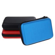 Estilos de 3 cores EVA Skin Carry Hard Case Bag Pouch para Nintendo 3DS XL LL com correia