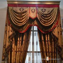 Luxurious ready made curtain/luxury hotel curtains