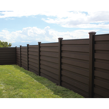 New generation anti-UV White Composite Fence Pickets