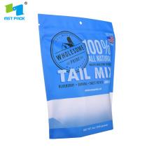 Personnalisé imprimé 500g sac séché aliments pour animaux de compagnie