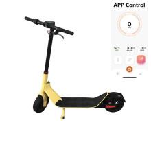 Scooter elétrico portátil dobrável com carregador de bateria