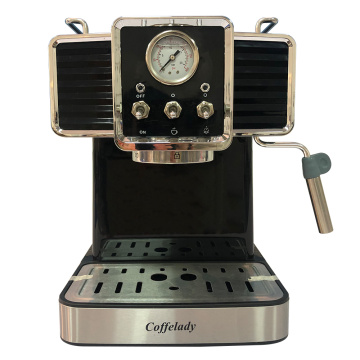 19 bar Pumpkaffeemaschine mit Manometer