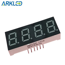 0.4 inch 7 segment led display in red