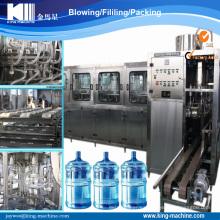 10 litros a 20 litros de botella de agua de llenado de la máquina