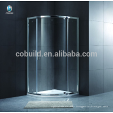 K-543 Europe Style Simple Glass Circular Self-cleaning Glass Shower Room shower enclosure with tray