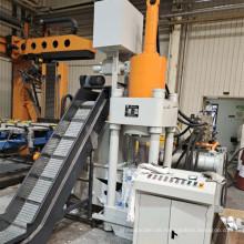 Aluminiumspäne Schrott Hydraulische Brikettpresse Maschine