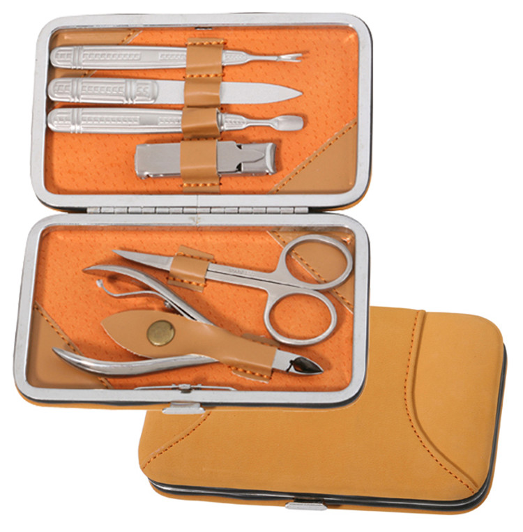 Deluxe Lady Manicure Sets Lady Beauty Tools Juego de cortador de uñas