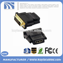 New DVI 24+1 Male to HDMI Female Converter HDMI to DVI adapter Support 1080P for HDTV LCD,Wholesale