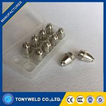 Bocal de cobre de corte de gás quente de alta qualidade para AG60 SG55
