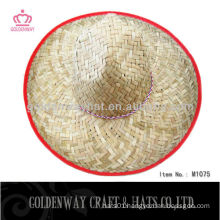 custom new design mexican hat broad leave straw sombrero natural environmental hats