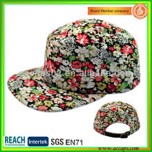 2013 Fashion&New Floral Print 5 Panels Hat-style 0007